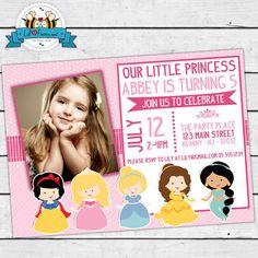 Prinses uitnodiging