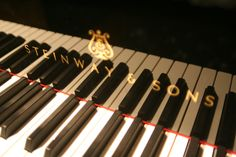 Steinway & Sons ..the most beautiful piano i will ever lay my eyes on <3