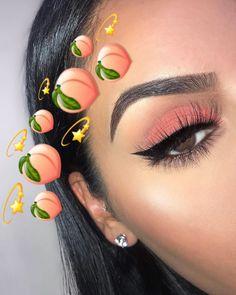 Eyeliner Designs, Eye Makeup Designs, Eye Makeup Art, Cute Makeup, Eyeshadow Makeup, Makeup Ideas, Eyeshadow Palette, Makeup Inspo, Makeup Hacks