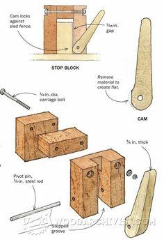 3474-Quick-Locking Stop Block