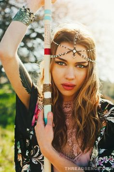 boho hippie fashion | ... , living free, ThreadSence Spring 2013 Lookbook #fashion #coachella
