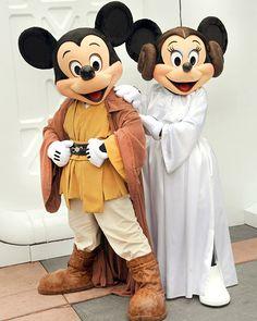 Star Wars Mickey!