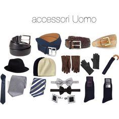 """""""accessori uomo"""" by antonellacucca on Polyvore"""