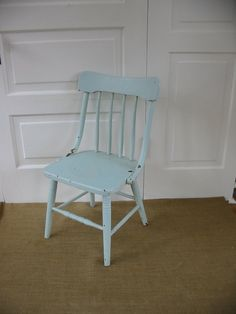 would eventually LOVE a vintage kid's chair