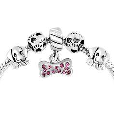 pandora dog charm beads