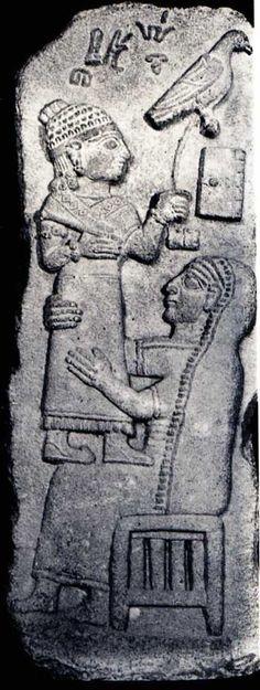 Late Hittite, relief stele, Maraş, Louvre Museum, Paris