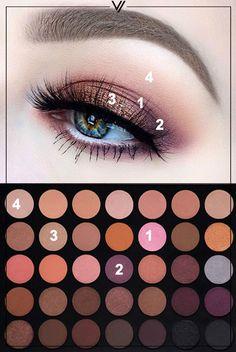 Makeup Revolution: Morphe - 35 Color Warm Palette 35W - VORANA