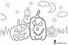 16 besten halloween ausmalbilder bilder auf pinterest | coloring pages, printables und kid drawings