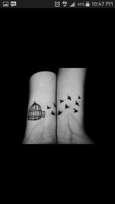Cute best friends tattoos