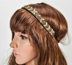 Find More Hair Accessories Information about Europe America charming fashion pure manual nail bead elastic headband summer party with beads hair accessories women hairband,High Quality Hair Accessories from huanyu commodity  co.,ltd on Aliexpress.com