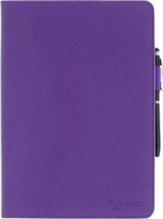 "rooCASE Kindle Fire HDX 8.9"" Dual-View Folio Case w/ Stylus  Purple - via eBags.com!"