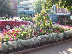 This is how Niagara-on-the-Lake looks in the summer time...
