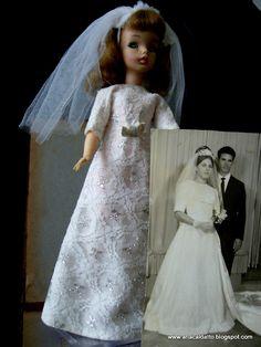 Vestido de Noiva Boneca Susi 1968 / vestido 1967 noiva