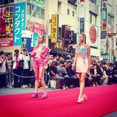 Tokyo New Age Runway in Shibuya Fashion Week