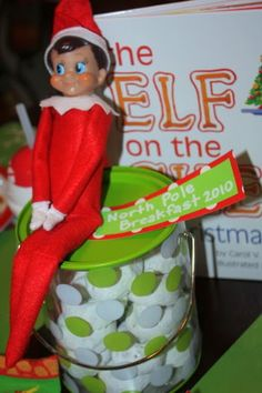 North Pole Breakfast to introduce Elf on the Shelf