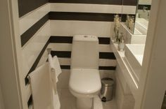 Toilet, Bathroom, Washroom, Profile, Bathrooms, Downstairs Bathroom, Flush Toilet, Toilets, Bath Mat