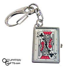 Card Watch Keychain