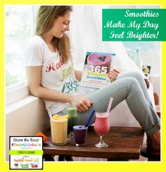 #smoothietude contest! prizes galore! Vegan Smoothies, Smoothie Recipes, Diet Recipes, Recipe Books, Happy Life, Diets, Giveaway, Favorite Recipes, Nutrition