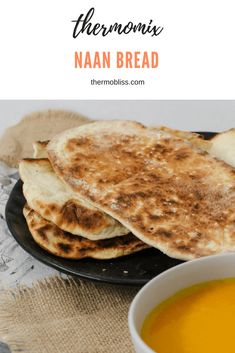A simple and delicious Thermomix Naan Bread that is perfect served with curries, rice, butter chicken and more!