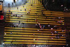 Nathan Street, Tsim Sha Tsui, Kowloon, June 2010. Crosswalk by robertschrader, via Flickr