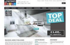 Jansen Totaal Wonen is leverancier van complete woonconcepten, meubels, keukens, slaapkamers, interieurs, etc. http://cowpunks.nl/portfolio_webdesign_websites_webapplicaties_onlinemarketing/jansen_totaal_wonen