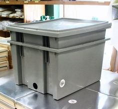 Our Multi-Use Straining System lets you store extracted frames until needed. #beekeeping http://beewellhoneyfarm.com/product/multi-use-straining-system/