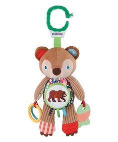 Loving this Eric Carle Developmental Brown Bear on #zulily! #zulilyfinds