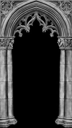 I like the rounded crosses used in Gothic architecture. I also like the multiple columns on each side used to frame an entranceway. I'm not sure what I prefer (a perfectly rounded doorway or one that comes to a point like this one).