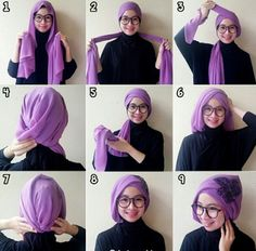 Weihnachtskostme fr Jugendliche Do you ever see a beautiful picture on with the perfect Hijab look and wonder how to do your scarf to look like this. Some Hijab looks seem completely complicated and scary, but in fact t Turban Hijab, Turban Mode, Turban Tutorial, Hijab Style Tutorial, How To Wear Hijab, How To Wear Scarves, Stylish Hijab, Hijab Chic, Hijabs
