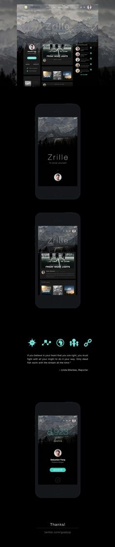 Zrille personalized design by goat jop, via Behance