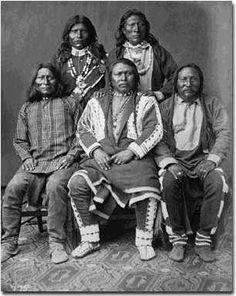 Ouray and chiefs, from Utah http://us.history.wisc.edu/hist102/weblect/lec03/03_06.htm