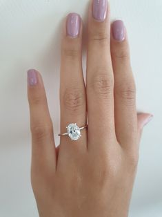 Engagement Ring Shapes, Dream Engagement Rings, Wedding Engagement, Wedding Rings, Beautiful Diamond Rings, Diamond Solitaire Rings, Oval Diamond, Wedding Goals, Dream Wedding
