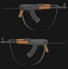 3D Weapon, sangmin lee on ArtStation at https://www.artstation.com/artwork/LxDJw