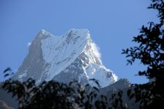Macha mountain (fishtail) - Annapurna, Poon Hill. Nepal.