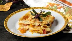 Lasaña de calabaza y parmesano. http://www.recetin.com/lasana-calabaza-parmesano.html