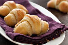 Swedish Almond Butterhorns
