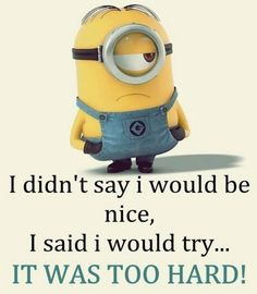 Funny Minion quotes of the hour (01:47:29 PM, Tuesday 23, June 2015 PDT) – 10…