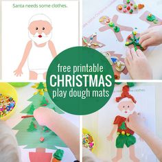 Free printable play dough mats - print all of our play dough mats for loads of…