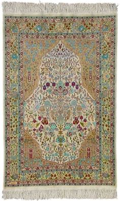 ₪ Turkish Rugs - Hereke Silk Carpet