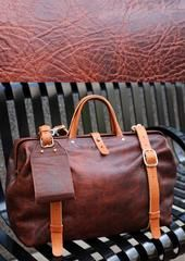 Roamographer | An American Bison Leather Camera Bag | Hold Fast