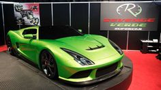 If Kermit drove a supercar, it would probably be the Revenge Verde. He'd also approve of the optiona... - Mark Blinch | Newscom | Reuters