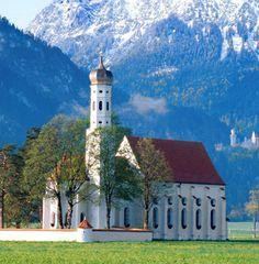 St. Coloman Church, Fussen, Germany