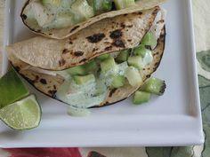 Fish Tacos with Kiwi, Avocado, and Jicama Salsa1/2 cup plain yogurt ...