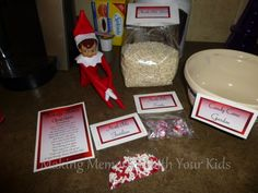 Candy Cane Garden with Free Printables - this is such a great idea and so easy.  The kids will love it.