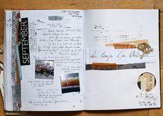 travel journal idea