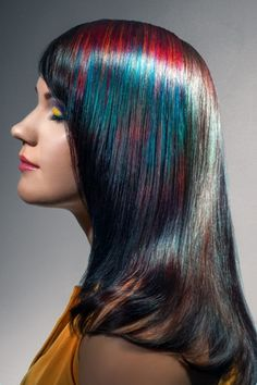 The Color Bird Hairstyle