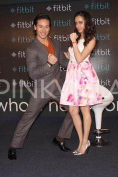 Shraddha and Tiger launch fitness-related wearable device | PINKVILLA