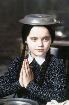 "Christina Ricci as Wednesday Addams in ""The Addams Family"" The Addams Family, Dark Beauty, Los Addams, Dark Romance, Wednesday Addams, The Munsters, Christina Ricci, Maquillage Halloween, Tim Burton"
