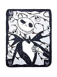 HOTTOPIC.COM - The Nightmare Before Christmas Jack Skellington Comfy Throw