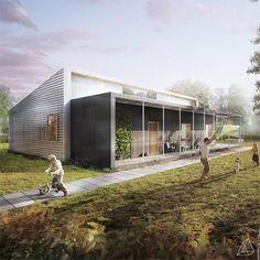 """Conheça duas """"casas do futuro"""" premiadas internacionalmente - TecMundo"""